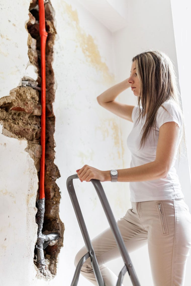 busted pipes repair in belleville illinois